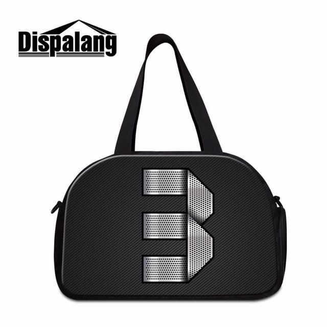 7bf3f3c5c3 Dispalang sapatos únicas mulheres bagagem mochilas com indenpent unidade  número 3 impressão saco de viagem portátil bolsa fim semana