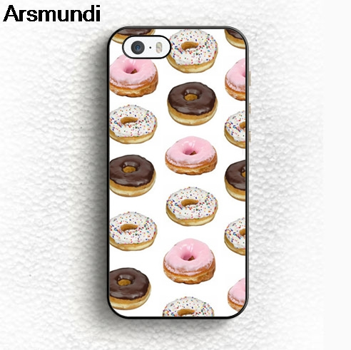 Arsmundi Delizioso Ciambella Phone Cases for iPhone 4S 5C 5S 6S 7 8 Plus X for Samsung S7 8 9 NOTE Case Soft TPU Rubber Silicone
