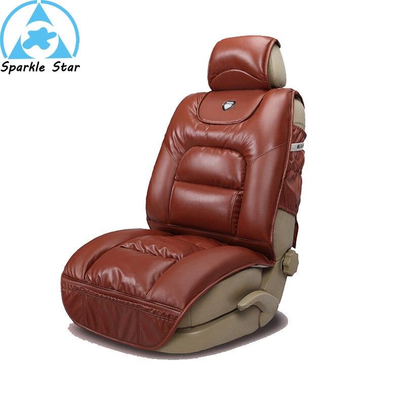 Astonishing Pu Leather Winter Car Seat Cushion Full Thick Seats Cushions Uwap Interior Chair Design Uwaporg