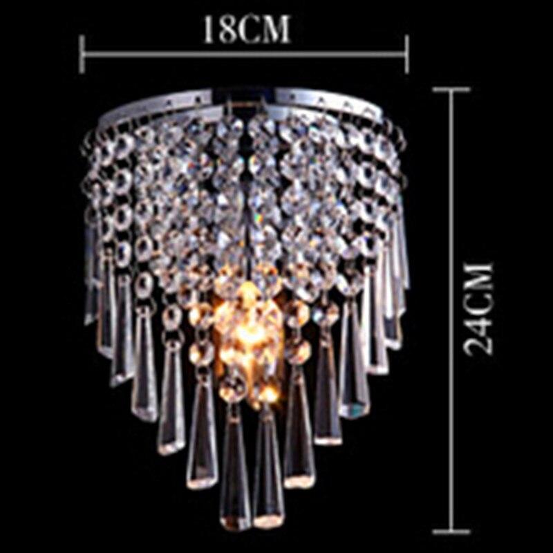 Crystal Licht gangpad lichten slaapkamer lamp moderne ...