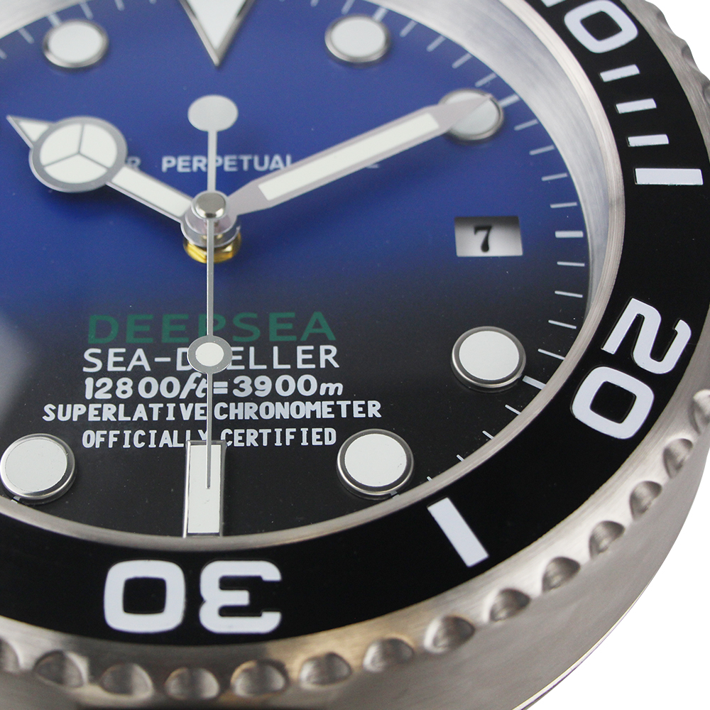 2019 Nueva llegada Reloj Sape Reloj de mesa Reloj de pared de metal - Decoración del hogar - foto 2
