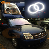 For Opel Vectra C 2002 2003 2004 Excellent Angel Eyes Ultra Bright Illumination Smd Led Angel