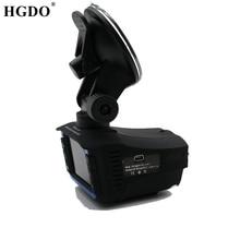 Hgdo регистратор автомобильный 2 в 1 русский авто камера 720 P HD регистраторы антирадар для автомобиля для россии радар детектор видеорегистратор  с антирадаром