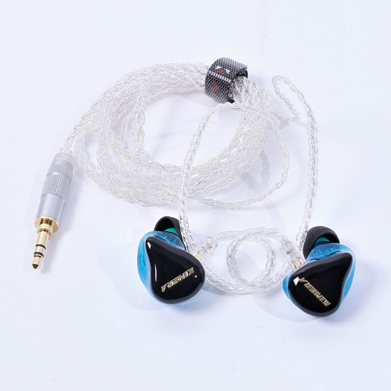 High Quality Original Kinera H3 HIFI Music In-Ear Monitor Headphones 2BA+1D Hybrid Dynamic Balanced Armature Earphones Universal senfer dt2 plus hybrid 1 dynamic 2 balanced armature dynamic ceramic hifi music earphones earbuds w ie80 mmcx interface