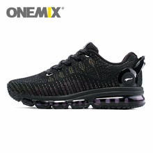 2017 ONEMIX new Reflective Uppers Air running Shoes for men Lightweight Sneakers women Walking Sports Outdoor Athletic Trainers