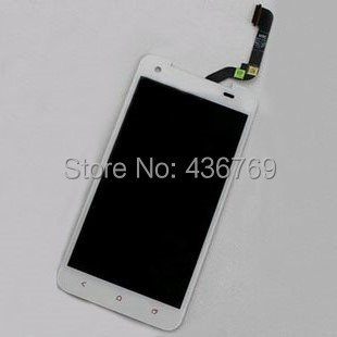 ФОТО LCD Display Touch Screen Digitizer Assembly For HTC Droid DNA X920e Butterfly Panel outer front Glass Lens black white