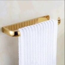 Новый ванная комната настенные позолоченные латунные полотенце для полотенец держатель для полотенца бар