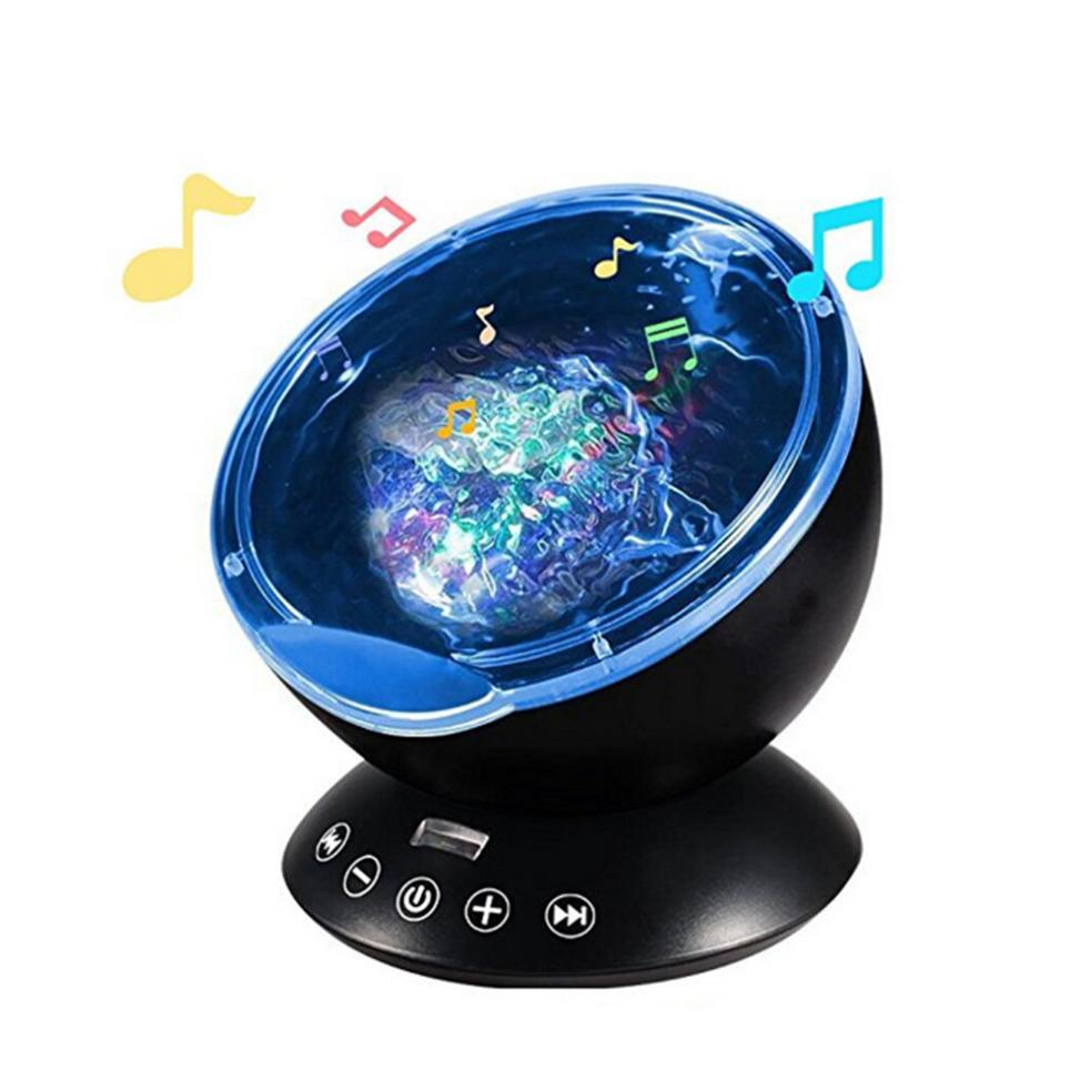 MUQGEW Rotating Night Light Projector Spin Starry Sky Star Master Children Kids Baby Sleep Romantic Led USB Lamp Projection led night light ocean wave projector starry sky aurora star light lamp luminaria baby nightlight gift battery powered led lights