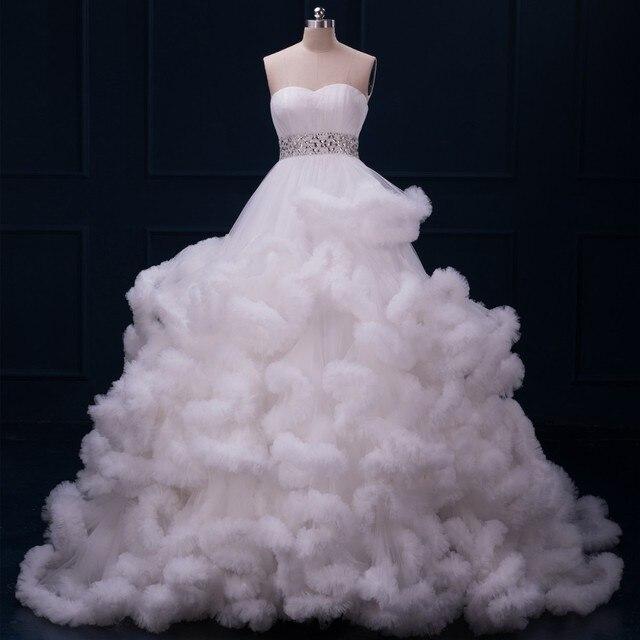 MDBRIDAL Nuvem forma de Bola Vestido de Noite Vestido com Beading Strapless Mulheres Vestido de Baile Lace-up