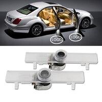 2X Lâmpada LED Cortesia Porta Do Carro Bem-vindos Luz 12 V Projetor Sombra Para Nissan Altima Coupe Armada Maxima Altima Sedan acessórios