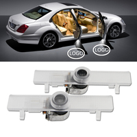 Free Shipping Car LED Door Ghost Shadow Light For Nissan 7000K High Bright Led Logo Projector