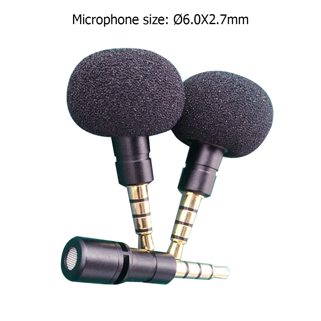 ZJ040MR Cellphone Smartphone Portable Mini Omni Directional Mic Microphone for Recorder for iPhone 5 6 Samsung Huawei in Microphones from Consumer Electronics