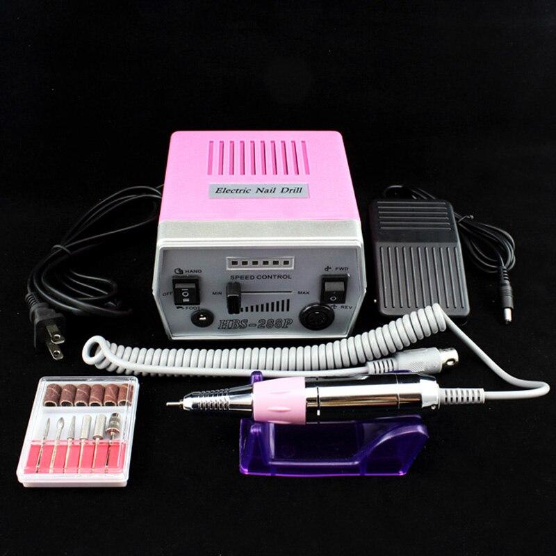 OPHIR 30000RPM elektriline küünte puurmasin 220V EL pistikfaili - Küünekunst - Foto 2