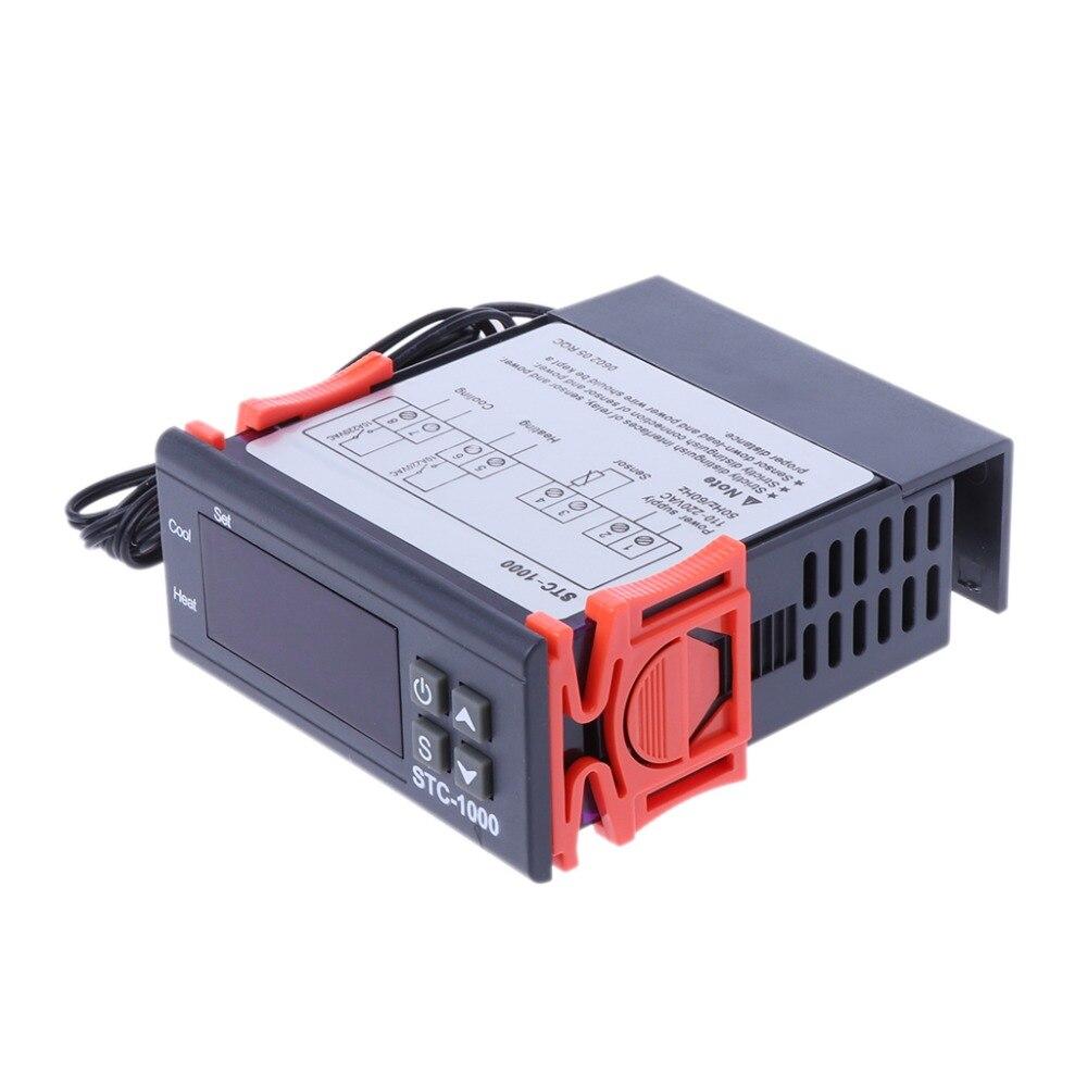 Numérique STC-1000 Tout Usage Régulateur de Température Thermostat W Capteur AC 220 v