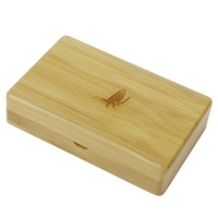 1pc New Arrival Bamboo Fly Fishing Flies Box Storage Case Hot Sale