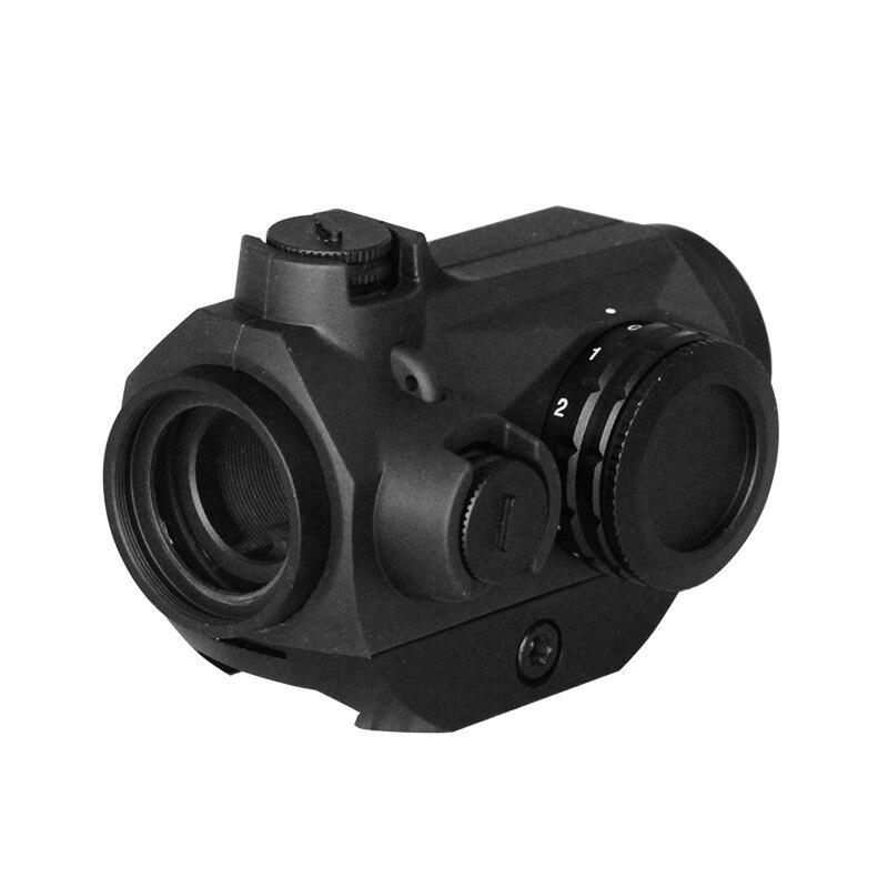Tactique lunette de visé Rouge Dot Airsoft Ar 15 Chasse Optique Carabine Fusil Antichoc Picatinny Rail viseur point rouge