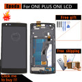 New LCD Display Touch Screen Digitizer Assembly+Frame +Tools for One Plus One for One Plus 1+, Free Shipping+track No.