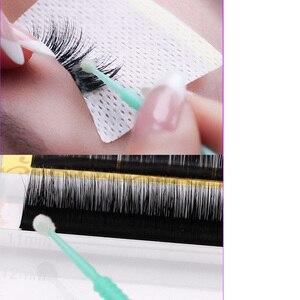 Image 4 - Cepillos de maquillaje desechables, 100 unidades/bolsa, Micro rímel, extensión de pestañas, herramientas individuales de eliminación de pestañas