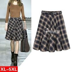 5xl plus big size vintage font b skirts b font womens 2016 summer spring autumn winter.jpg 250x250