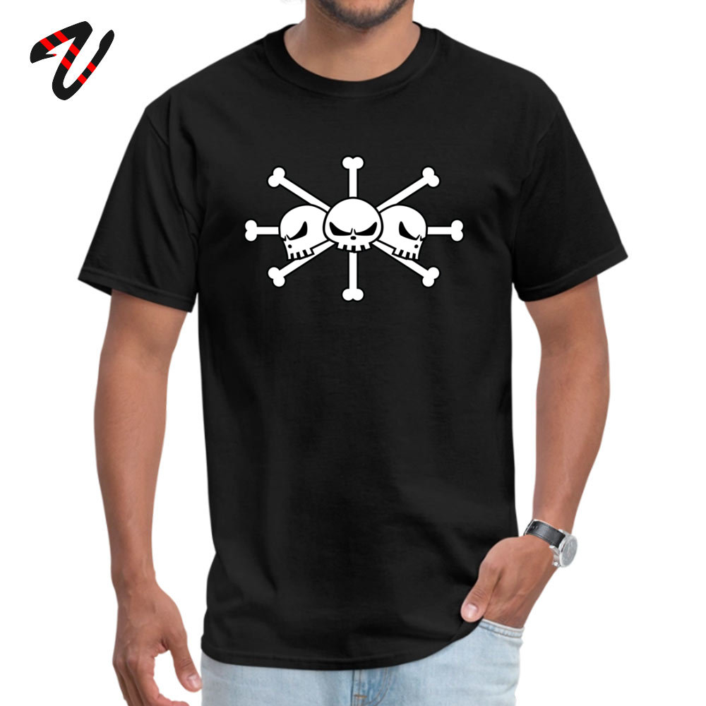 Geek Short Sleeve Tees Labor Day Round Neck Pure Cotton Men Top T-shirts BlackBeard Jolly Roger Geek Tops T Shirt Cheap BlackBeard Jolly Roger 2920 black