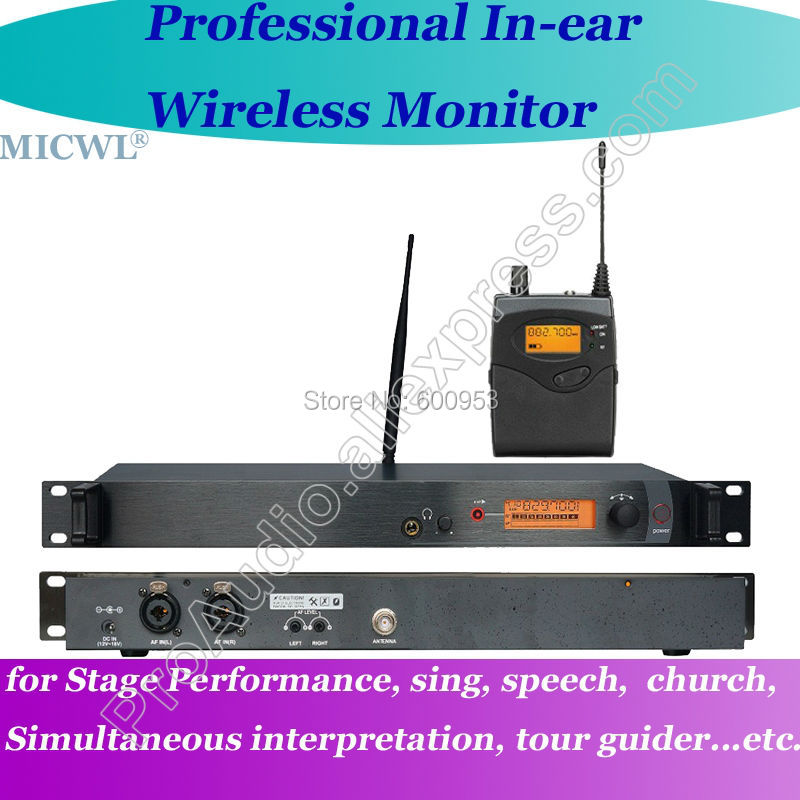 micwl wireless in ear monitor system in ear monitoring stage ear monitors can with multiple. Black Bedroom Furniture Sets. Home Design Ideas