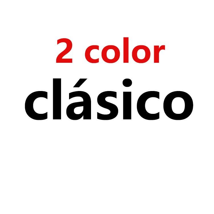 clasico 2 color Service DIY
