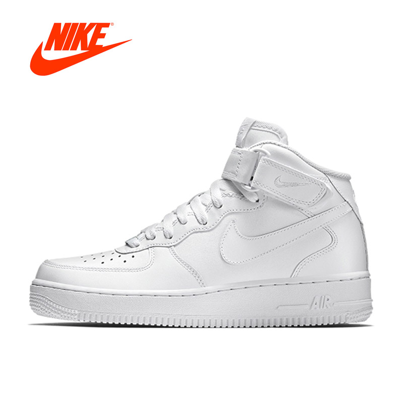 Original Official Nike Air Force 1 AF1 Breathable Mens Skateboarding Shoes Sports Sneake ...