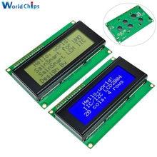 Smart Electronics moduł LCD Monitor LCD2004 2004 20*4 20X4 3.3V/5V charakter niebieski/żółty i zielony podświetlenie ekranu