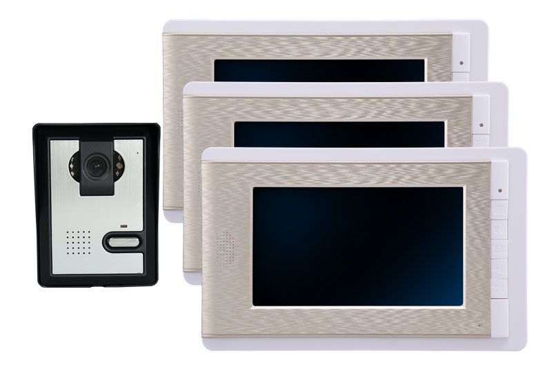 7 1V3 Color LCD Monitor Wired Intercom Video Door Phone 7 1V3 Color LCD Monitor Wired Intercom Video Door Phone