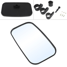 цена на Motorcycle Rear View  Rearview Mirror UTV Accessories With 1.5-1.75-2 Inch Fixed seat for UTV Motorcycle and Terrain Vehicle