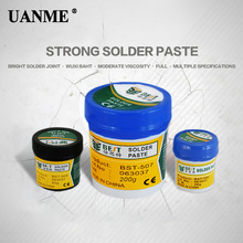 UANME BST Solder Paste BGA Soldering Paste Repair Solder Tin Cream Welding Fluxs Seal Grease Tool yzf r3 motorcycle muffler exhaust link pipe mid pipe motorbike exhaust muffler escape set for yamaha yzf r3 yzfr3 2014 2015 2016