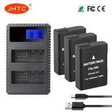 цена на Battery EN-EL14 1030mah For Nikon D3200 D3400 D3300 D3100 D5100 D5200 D5300 D5600 Camera Battery ENEL14 EN EL14a Charger 8.4V