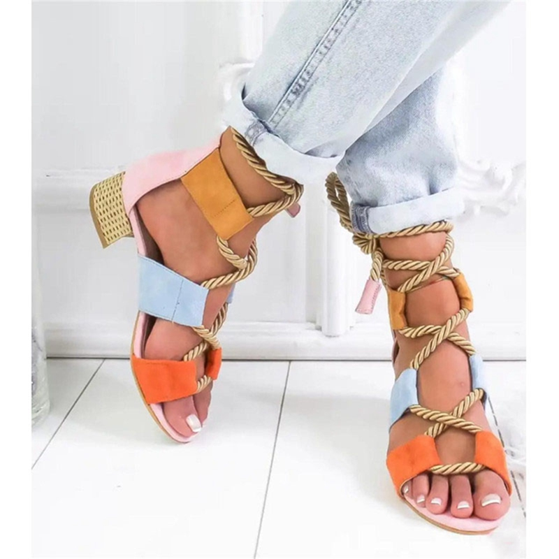 LOOZYKIT New Fashion Summer Wedge Espadrilles Women Sandals High Heel Pointed Fish Mouth Sandal Hemp Rope Lace Up Platform ShoesLOOZYKIT New Fashion Summer Wedge Espadrilles Women Sandals High Heel Pointed Fish Mouth Sandal Hemp Rope Lace Up Platform Shoes