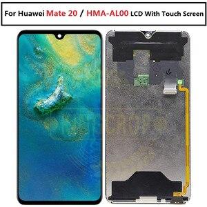 Image 3 - Para huawei companheiro 20 display lcd de toque digitador da tela substituição para huawei companheiro 20 x para huawei mate20 HMA AL00 lcd com quadro