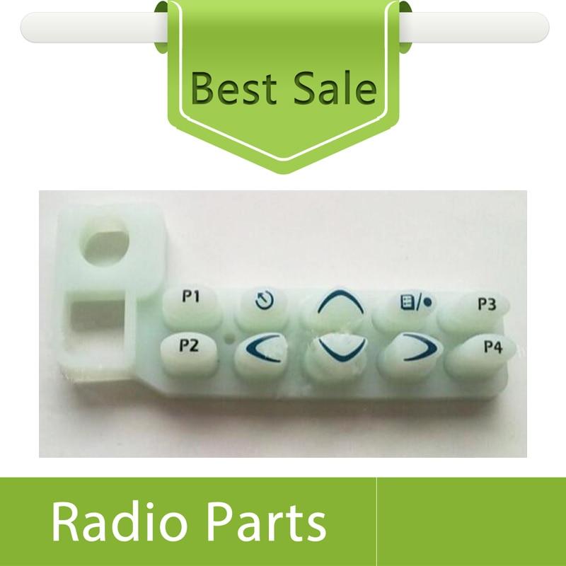 20X гумена клавиатура за Motorola Vehicle GM338 - Комуникационно оборудване - Снимка 1