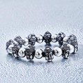 steel soldier stainless steel round and buddha bracelet popular jewelry for men and women as gift