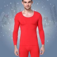 HOT SALE 2018 new thermal underwear mens long johns men Autumn winter shirt+pants 2 piece set warm thick plus velvet size M 4XL
