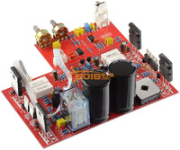 Finished plate Vertical tube 300W single track Subwoofer fever power amplifier board including Low pass filter board
