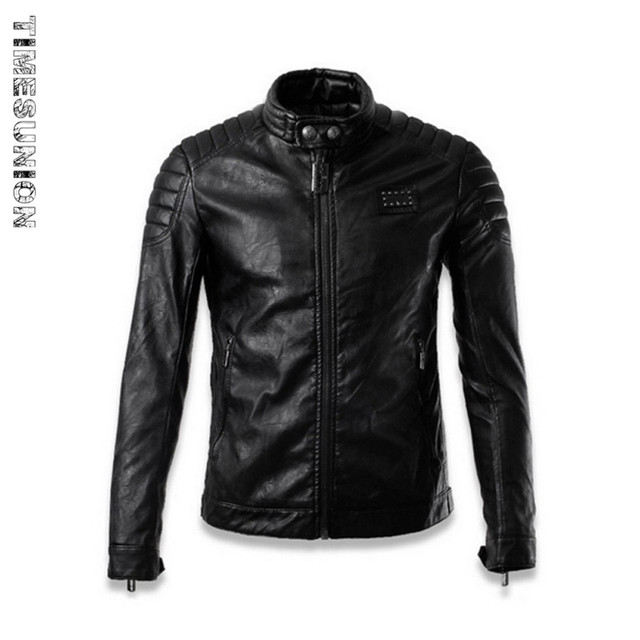 Bomber Motorcycle Biker Leather Jacket Men Fashion Luxury Veste Cuir Homme Winter Flight Pilot Leather Jackets Slim Fit 3XL