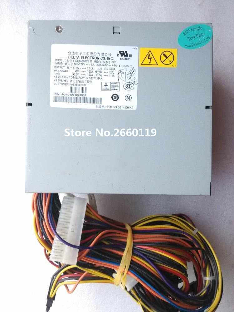 все цены на Server power supply for T168 T468 T280 DPS-350TB D 350W fully tested онлайн
