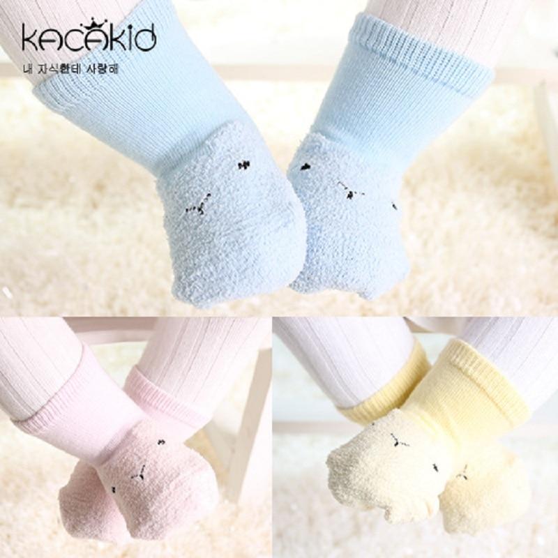 Kacakid Cartoon kids Socks Baby Boy Girls Casual socks Infantil kids anti slip Socks hot sale