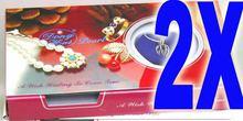 Распродажа популярных подарков! оптом 2x коробки жемчужное ожерелье