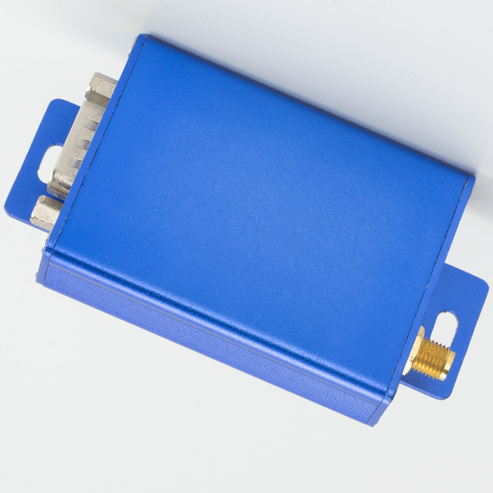 Fixed Wireless Terminals 2w Wireless Rs485 Transceiver 433mhz Rf Transmitter And Receiver 5km Range Rf Data Modem Aluminum Enclosure Receiver