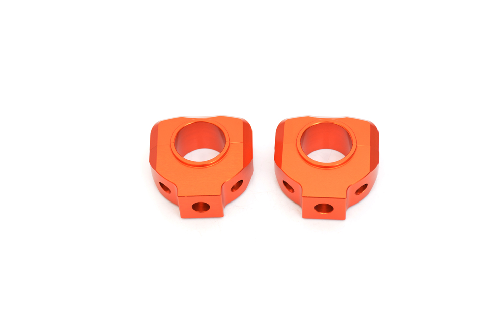 Brand new Orange Handlebar Clamp 28mm 1-1/8 For KTM DUKE 125 200 390 2012-2013 kemimoto for ktm duke 125 200 390 2011 2015 motorcycle handlebar drag bar clamp gel grips mount risers kit
