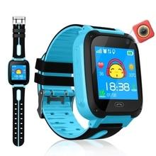 Водонепроницаемые Детские Смарт-часы с микро sim-картой, трекер звонков, Детская камера, анти-потеря положения, будильник, умные часы