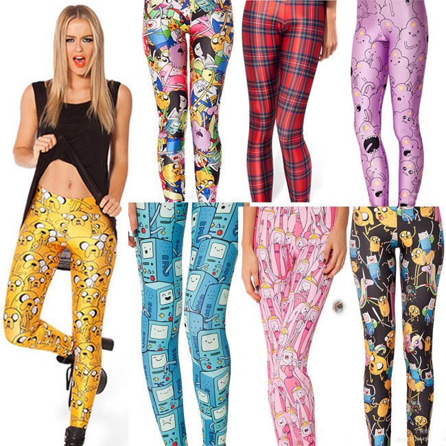 Cut Cartoon Women Legging Womens Leggings Jeggings Women  Legings Sexy Legging Pants Legins Sexy Printed Leggings 11 Color