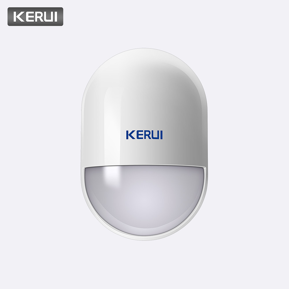 KERUI P829 Wireless PIR Motion Detector For GSM PSTN Home Security Alarm System Wireless 433MHz PIR Motion Sensor Indoor