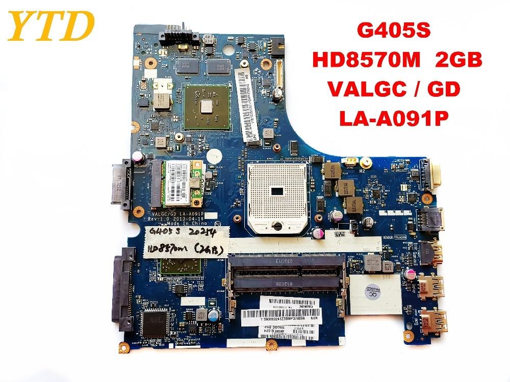 Original para Lenovo Laptop Motherboard Valgc gd La-a091p Testado Bom Frete Grátis G405s Hd8570m 2gb