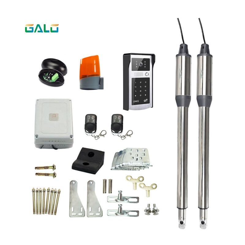 Smart APP&remote control Gates opener,Linear Actuator DC Worm Gear Automatic Swing Gates automatic Opener+wifi dooebell gates k025222 gates