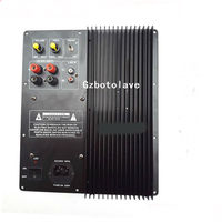 -High power 220V 600W placa de amplificador de baixo puro home theater orador placa amplificadora baixo tampo